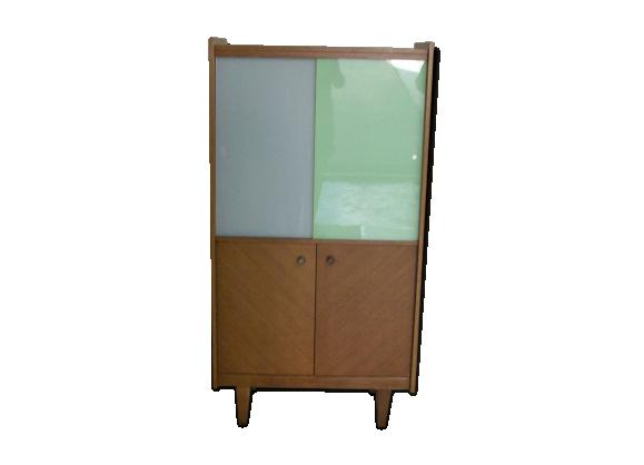 armoire ann e 60 bois mat riau bois couleur bon. Black Bedroom Furniture Sets. Home Design Ideas