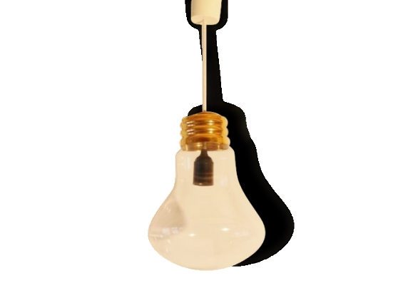 suspension lampe vintage