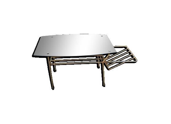 Table basse porte revue années 50/60