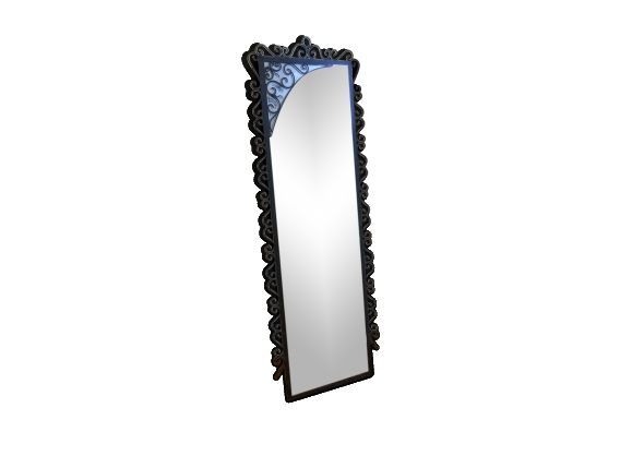Miroir fer forg for Miroir en fer forge
