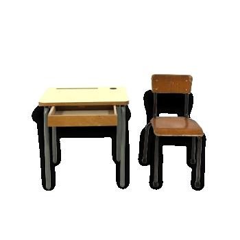 Bureau et pupitre enfant vintage d 39 occasion - Bureau et chaise enfant ...