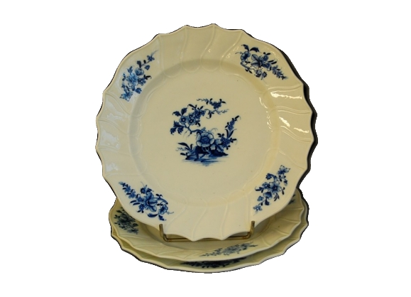 Lot de 3 assiettes en porcelaine allemande