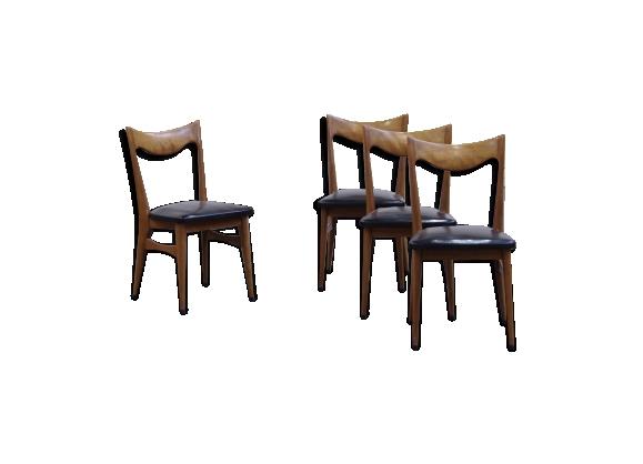 chaises scandinave vintage 1960 - Chaise Vintage Scandinave
