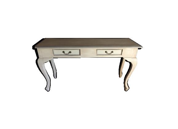 Console style Louis XV deux tiroirs