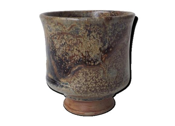 Tasse à thé ou café en grés vintage