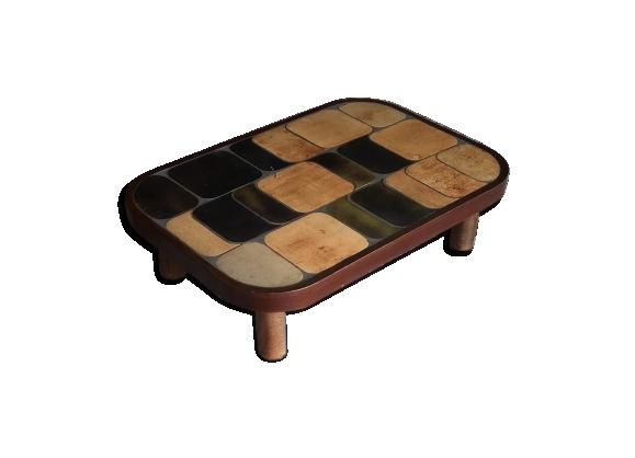 Table basse de Roger Capron modèle Shogun
