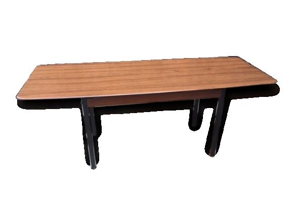 Table basse Design Scandinave Vintage Werzalit 1960