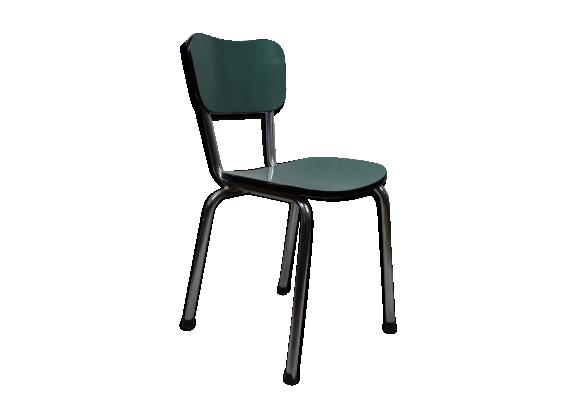 chaise en formica bleu vert turquoise formica bleu. Black Bedroom Furniture Sets. Home Design Ideas