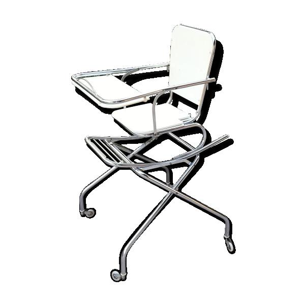 chaise haute jaune clair m tal jaune bon tat vintage 4f1fb343b673328fafb2f0f35729acc7. Black Bedroom Furniture Sets. Home Design Ideas