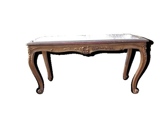 Table basse de style Louix XVI Banquette canée