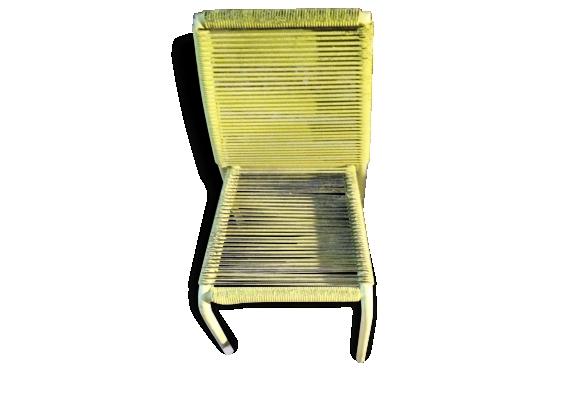 Chaise scoubidou enfant cheap sony dsc with chaise - Chaise scoubidou vintage ...