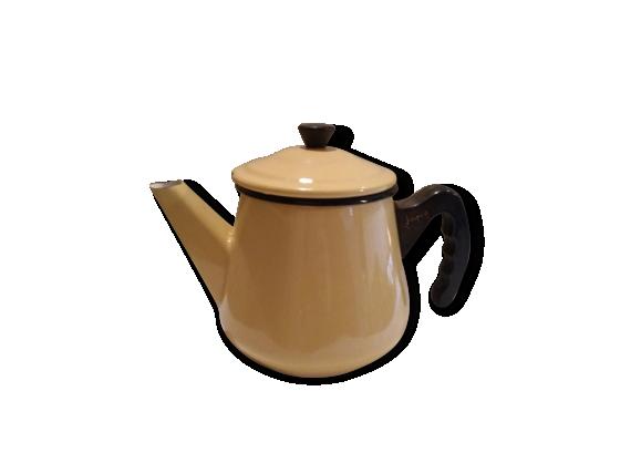 petite bouilloire maill e japy t le maill e jaune dans son jus vintage 151945. Black Bedroom Furniture Sets. Home Design Ideas