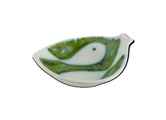 Céramique italienne Tasca - Coupe poisson des années 50/60