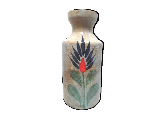 Vase en céramique, peint à la main