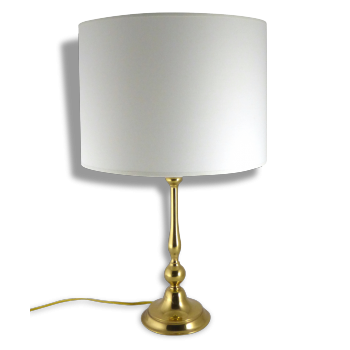 Lampe en laiton - 1950-60
