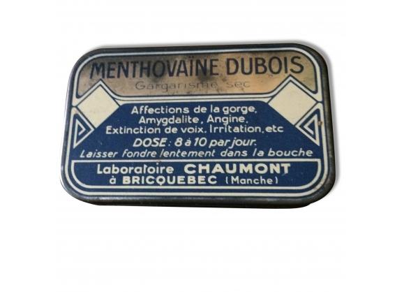 Ancienne boîte de pastilles