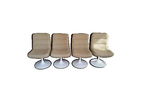 Série de 4 chaises de Geoffrey Harcourt par Artifort années 60