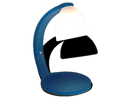 lampe italienne en verre d poli le fait main. Black Bedroom Furniture Sets. Home Design Ideas