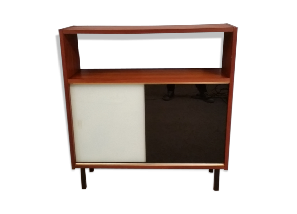meuble vitrine ann e 50 60 bois mat riau bois couleur bon tat vintage. Black Bedroom Furniture Sets. Home Design Ideas