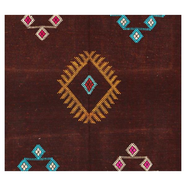 Cactus Silk Rug Vintage Moroccan Tapis Berber Mid