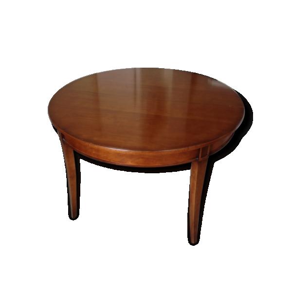 lot de 1 table ronde et chaises de repas mod le hauteville rochebobois bois mat riau. Black Bedroom Furniture Sets. Home Design Ideas