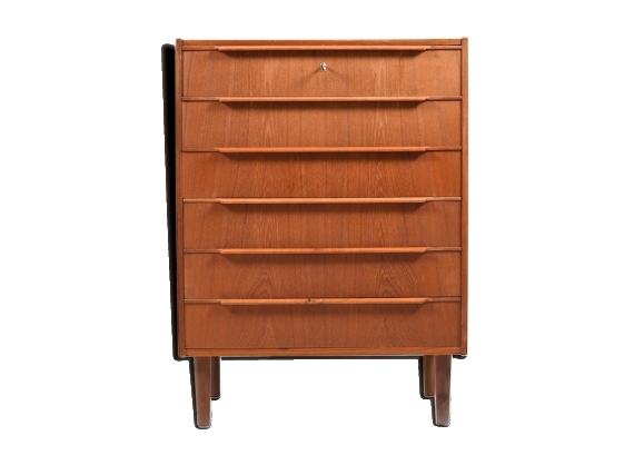 Danish teak chest of drawer