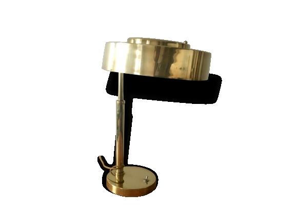 lampe en laiton 1940 1950 le fait main. Black Bedroom Furniture Sets. Home Design Ideas
