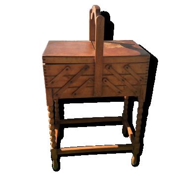 travailleuse couturi re vintage d 39 occasion. Black Bedroom Furniture Sets. Home Design Ideas