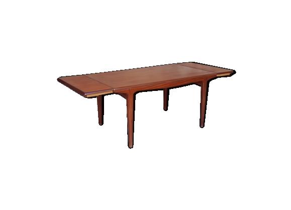 Table rallonges scandinave en teck andersen teck for Table a rallonge scandinave