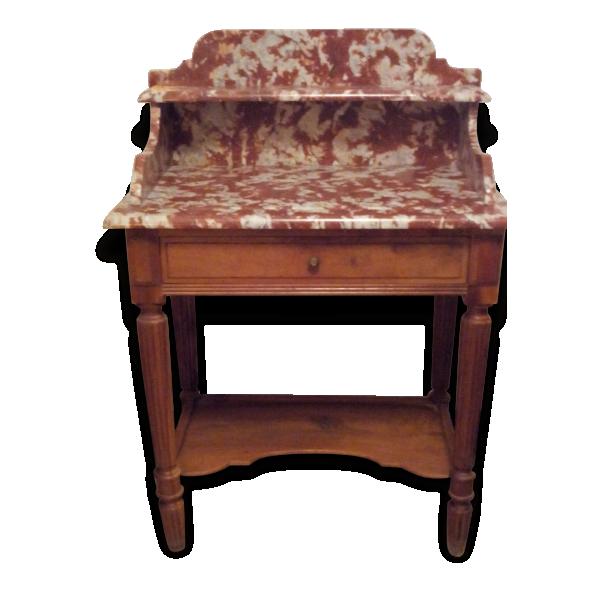 coiffeuse bois mat riau bois couleur dans son jus classique 34536. Black Bedroom Furniture Sets. Home Design Ideas