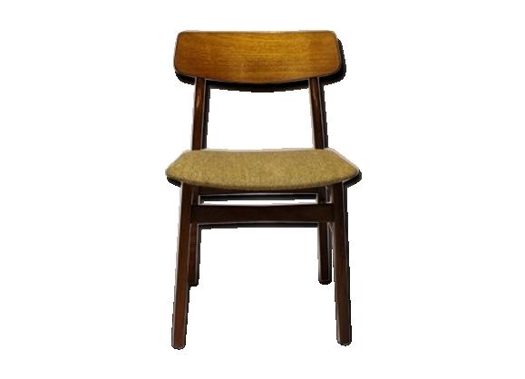 Chaise en teck et laine
