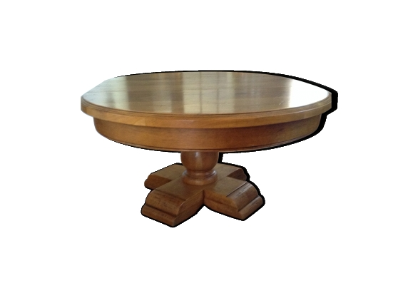 Table chêne massif extensible