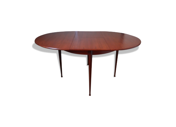 Table salle manger design vintage des ann es 60 70 for Table a rallonge design scandinave