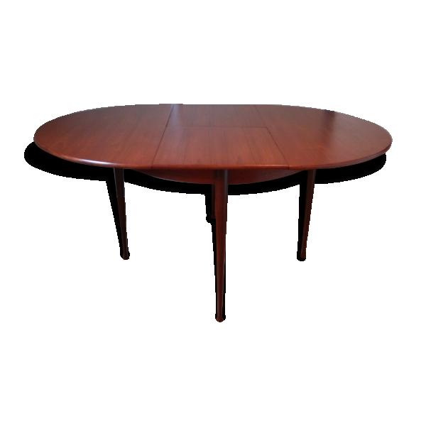 Table salle manger design vintage des ann es 60 70 for Salle a manger annee 70