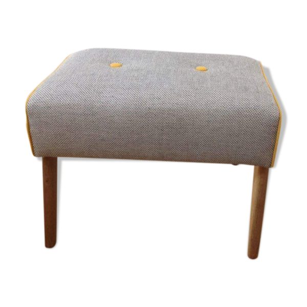 repose pieds pouf tissu gris bon tat vintage 75cc83a1d4ef35ee82afdcac9fd079ad. Black Bedroom Furniture Sets. Home Design Ideas