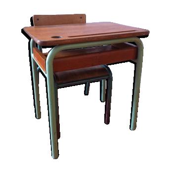 Mobilier et d coration pour chambre d 39 enfant vintage d - Chaise d ecolier vintage ...