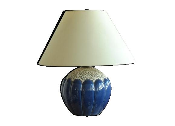 Pied de lampe boule art déco de Saint Clément 1930