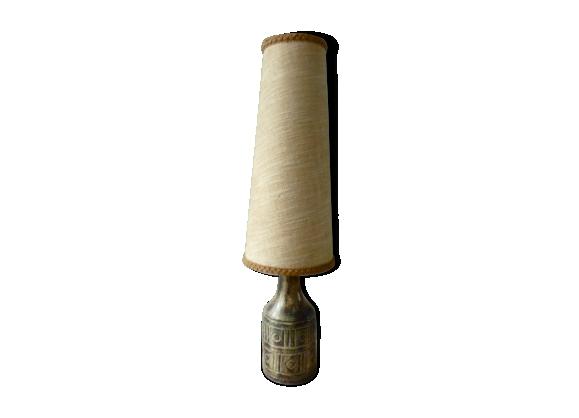 Lampe en céramique Olivier Pettit des années 50 60