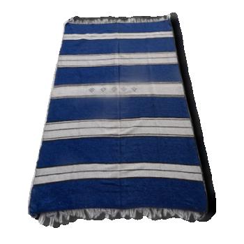 Couverture/ Tapis kilim motif berbère