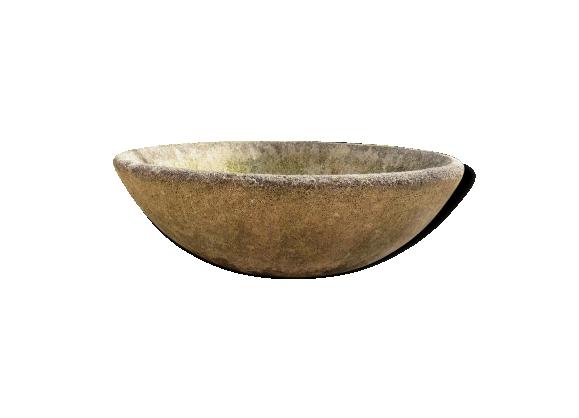Vasque jardinière en ciment