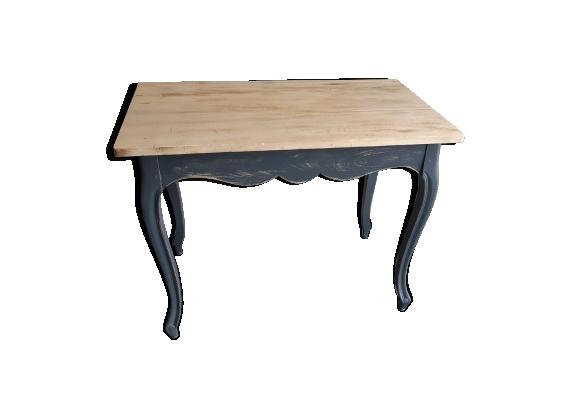 Table console en bois style Louis XV