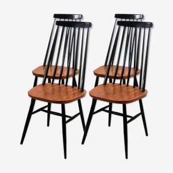 Série de quatre chaises Pastoe