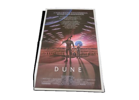 Affiche américaine du film Dune.