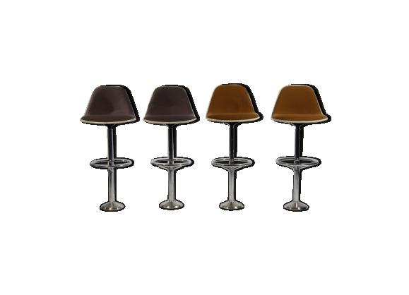 Tabourets de bar par Ray & Charles Eames pour Herman Miller