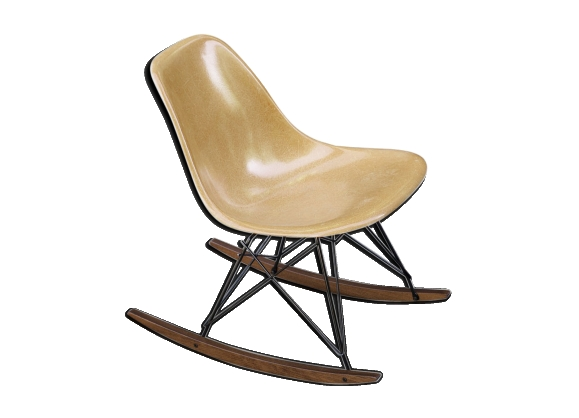 Rocking chair rar Eames vintage Herman Miller Original 1970