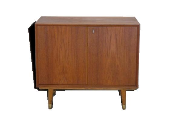 chiffonnier vintage scandinave en teck teck bois couleur bon tat scandinave. Black Bedroom Furniture Sets. Home Design Ideas