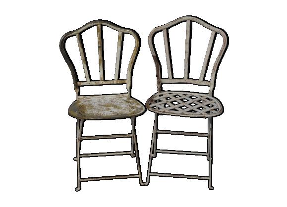 Chaises fer forg - Chaises de jardin en fer ...