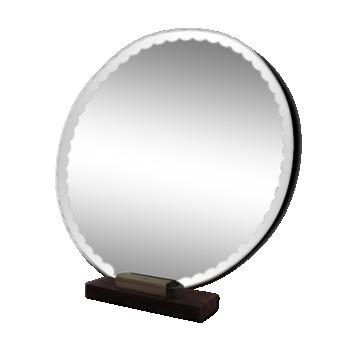 Miroir en verre ou cristal vintage d 39 occasion for Miroir 50 40