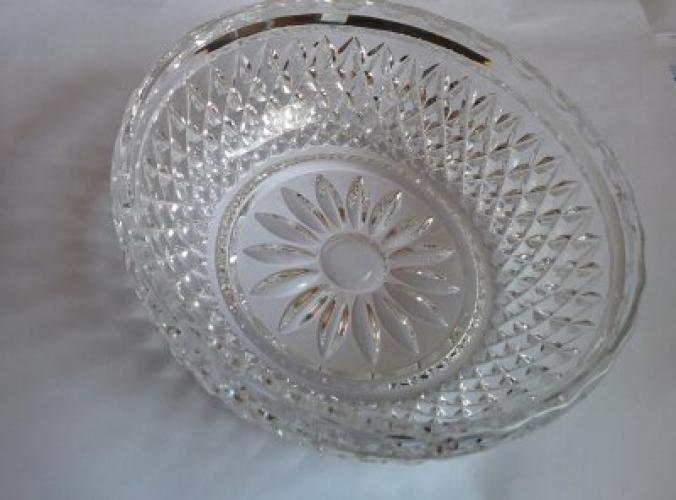 Coupe ciselée en cristal