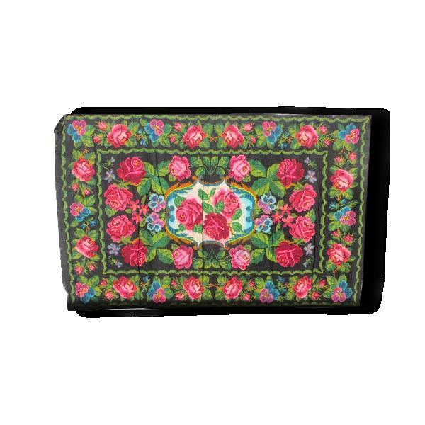 Tapis kilim moldave vert pomme et rose tissu multicolore bon tat thnique 149903 Tapis cheval vert pomme